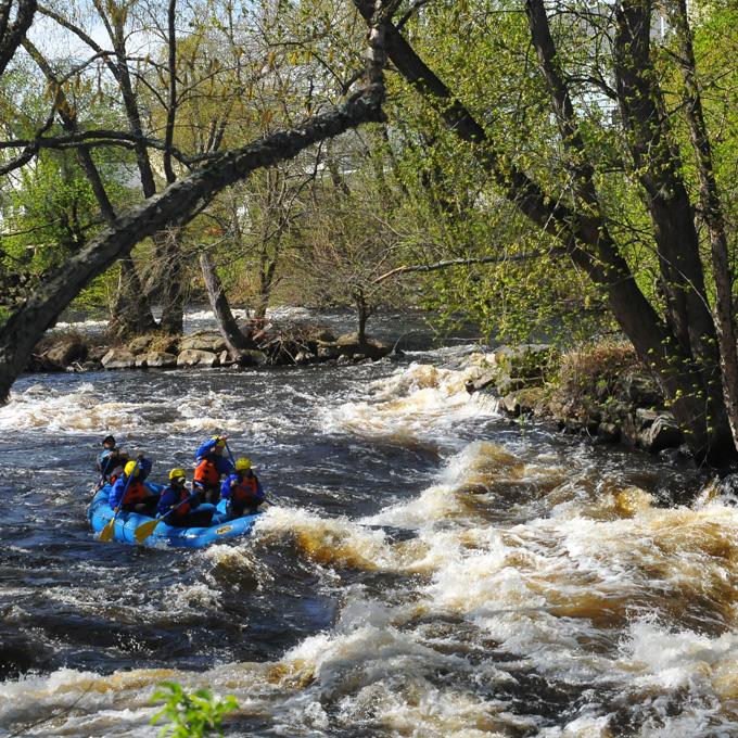 Rafting in Massachusetts